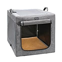 Petsfit Travel Double Door Dog Crate