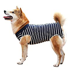 Dotoner Abdominal Wound Protector Onesie for Dogs