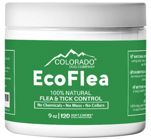 EcoFlea by ColoradoDog Flea and Tick Chews