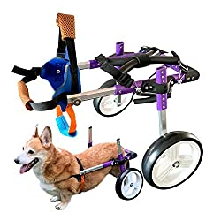 HiHydro 6 Types Cart Pet Wheel Chair for Handicapped Dogs