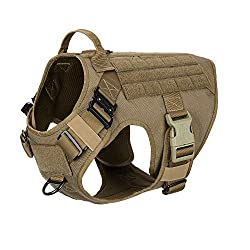 ICEFANG Tactical Dog Harness for Pulling