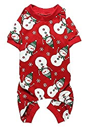 Lanyarco Christmas Onesie for Dogs