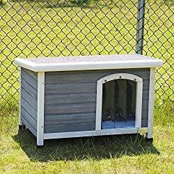 Petsfit Outdoor Wood Dog House
