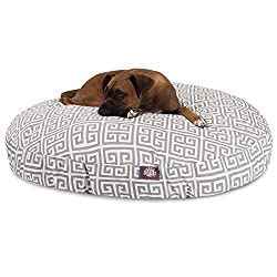 Majestic Pet Grey Towers Round Pet Bed