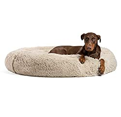 Best Friends by Sheri Round Dog Bed Cuddler