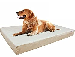 Dogbed4less Memory Foam + Exterior Washable Covers