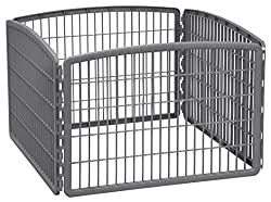 Iris Four Panel Fence and Playpen for Camping