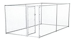 Lucky Dog Galvanized Chain Link Kennel Review