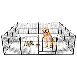 Tooca Foldable Dog Fence for RV Camping