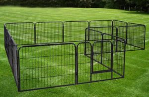 portable camping dog fence