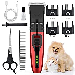 Aushen Dog Grooming Clippers