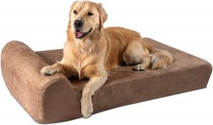 Big Barker Orthopedic Dog Bed for a Large Dog with Arthritis