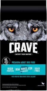 CRAVE Dog Food to Reduce Shedding