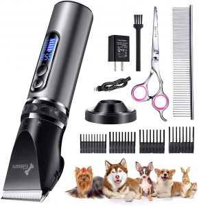 Gimars Powerful Cordless Dog Clippers