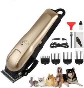 HeiYi Professional Cordless Dog Clippers for Thick Hair