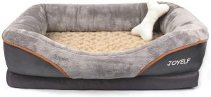 Joyelf Dog Bed for Dogs with Arthritis