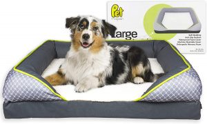 Pet Magasin Orthopedic Memory Foam Dog Bed for Arthritis