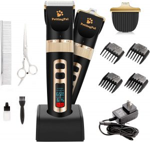 Petting Pal Heavy Duty Quiet 2-in-1 Dog Grooming Clippers