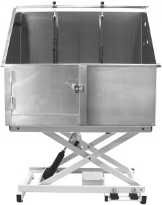 Flying Pig Stainless Steel Dog Grooming Tub with Electrical Lift