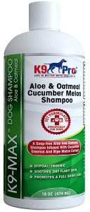 K9 Pro Oatmeal Dog Shampoo and Conditioner