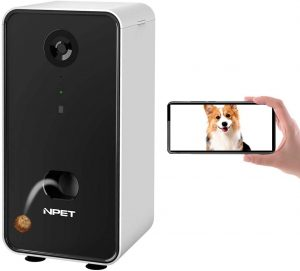 NPET Smart Pet Camera Dog Treat Dispenser