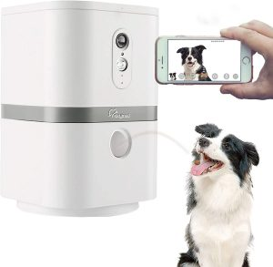 Skymee Petalk AI II Dog Camera Automatic Treat Dispenser