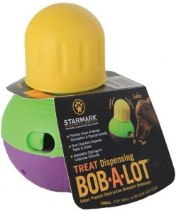 Star Mark Bob-A-Lot Interactive Dog Toy
