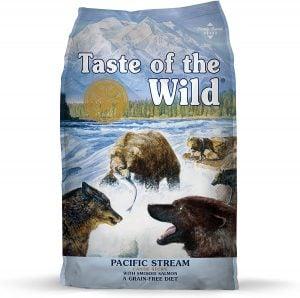 Taste of the Wild Pacific Stream Grain-Free Smoked Salmon Dry