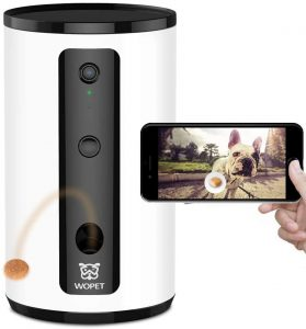 WOPet Smart Pet Camera Dog Treat Dispenser