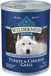 Blue Buffalo Wilderness Natural Senior Wet Dog Food