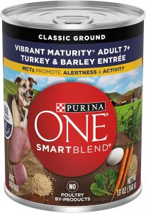 Purina ONE SmartBlend Vibrant Maturity Senior Dog Food