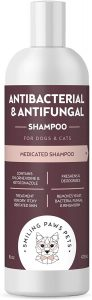 Smiling Paws Antibacterial & Antifungal Shampoo for Dogs