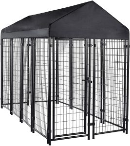 Amazon Basics Large Dog Crate Welded Wire Crate Kennel​