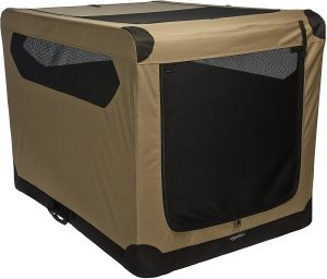 Amazon Basics Portable Folding Soft Dog Crate