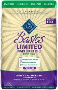 Blue Buffalo Basics Limited Ingredient Grain Free Natural Dog Food
