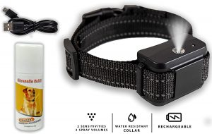 Downtown Pet Supply Rechargeable Anti-Bark Citronella Dog Collar