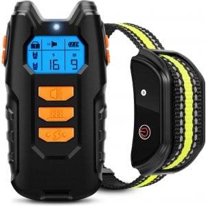 Flittor Dog Training Collar, Shock Collar for Dogs $23.99