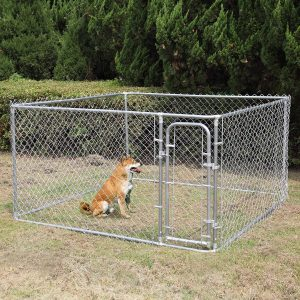 Jaxpety Foldable Metal Pet Exercise and Playpen Outdoor 72-Inch Dog Cage