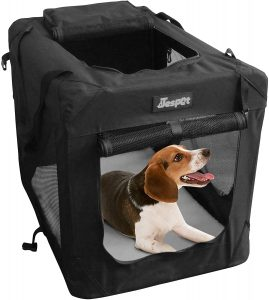 Jespet Soft Pet Crate for Indoor and Outdoor Use