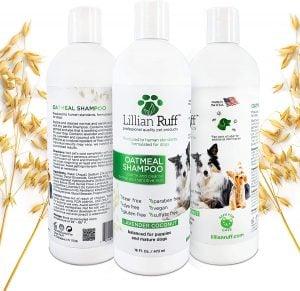 Lillian Ruff Oatmeal Dog Shampoo