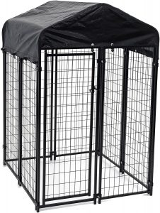 Lucky Dog Heavy Duty Welded 72 Inch Dog Kennel With Cover​