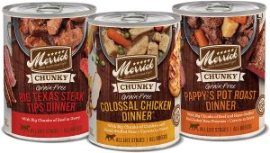 Merrick Chunky Grain-Free Wet Dog Food