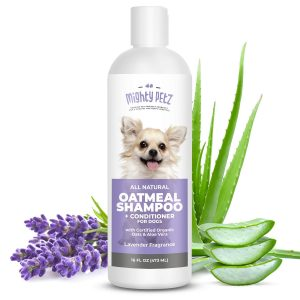 Mighty Petz 2-in-1 Oatmeal Dog Shampoo and Conditioner for Poodles