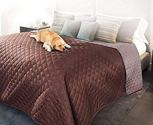 Pet Bed Protector and reversible blanket