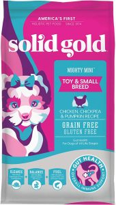 Solid Gold Mighty Mini Grain-Free Dog Food for Sensitive Stomachs