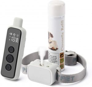 WWVV Pet Citronella Dog Training Collar with Remote Control