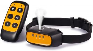 WWVV Pet Citronella Spray Training Collar with Remote Control