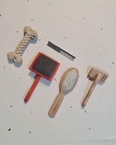 different goldendoodle dog brushes