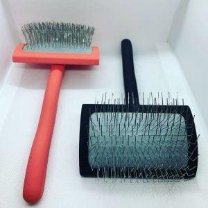 slicker brushes for a goldendoodle