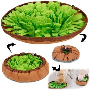 AWOOF Pet Snuffle Mat for Dogs, Interactive Feed Game for Boredom $17.79